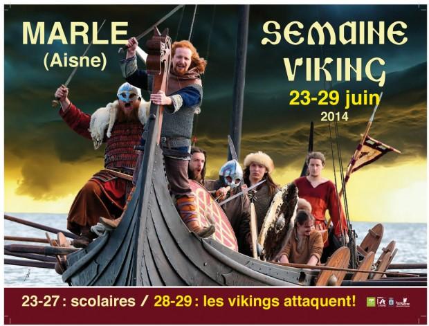 Musée des Temps Barbares - Semaine viking 23-29 juin 2014
